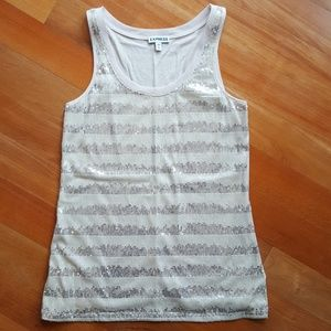 TWO Express Sequin Tank Tops, XS